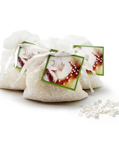 Vonné vrecúško z organzy s vôňou bielych kvetín Ego Dekor Organza Flor Blanca