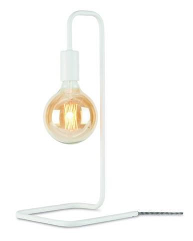 Biela stolová lampa Citylights London
