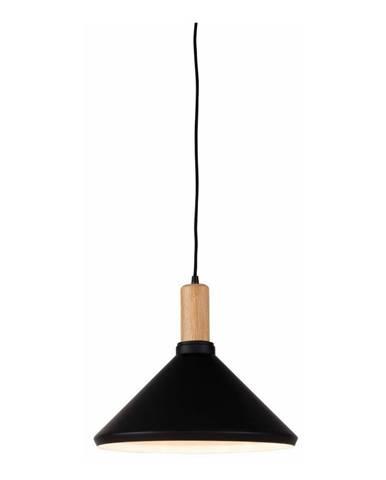 Čierne závesné svietidlo Citylights Melbourne One