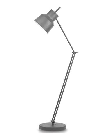 Sivá stojacia lampa Citylights Belfast