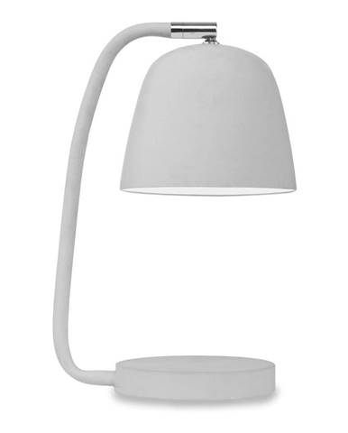 Sivá stolová lampa Citylights Newport