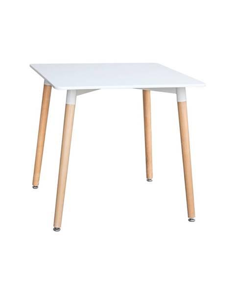 IDEA Nábytok Jedálenský stôl 80x80 UNO biely