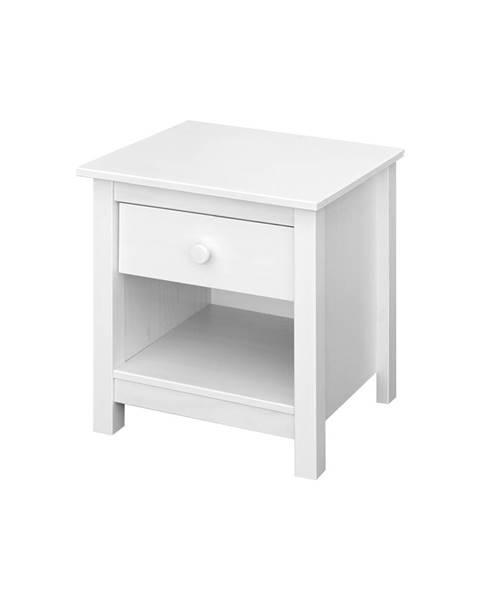 IDEA Nábytok Nočný stolík TORINO biely