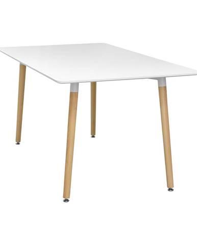 Jedálenský stôl 140x90 UNO biely