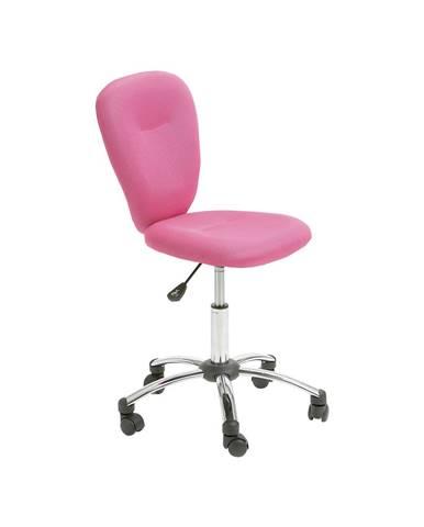 Kancelárska stolička MALI ružová