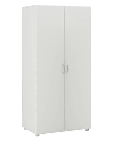 Skriňa 2-dverová BEST biela
