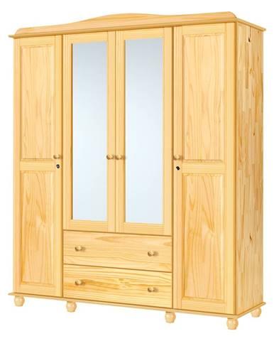 Skriňa 4-dverová GRAND PRIX