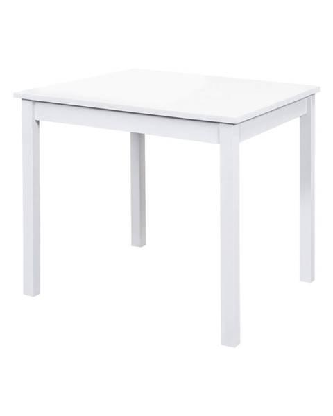 IDEA Nábytok Jedálenský stôl 8842B biely lak