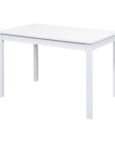 IDEA Nábytok Jedálenský stôl 8848B biely lak