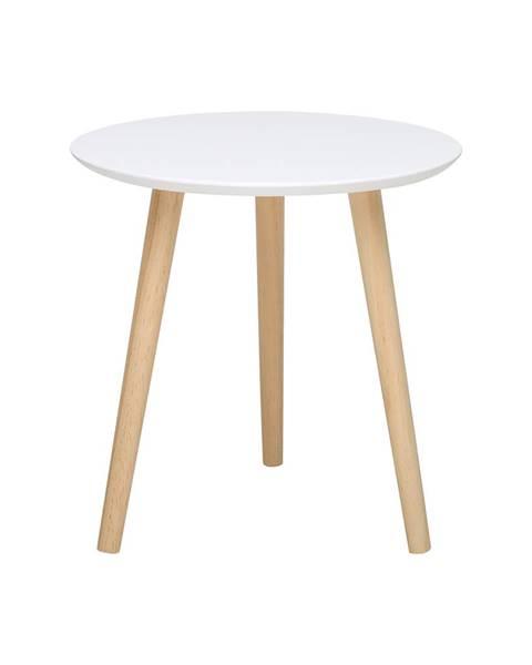 IDEA Nábytok Odkladací stolík IMOLA 2 biely/borovica