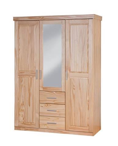 CELSO šatníková skriňa so zrkadlom