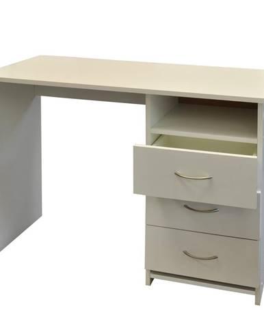 Písací stôl 44 biela