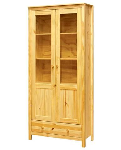 Vitrína 2 dvere + 1 zásuvka TORINO