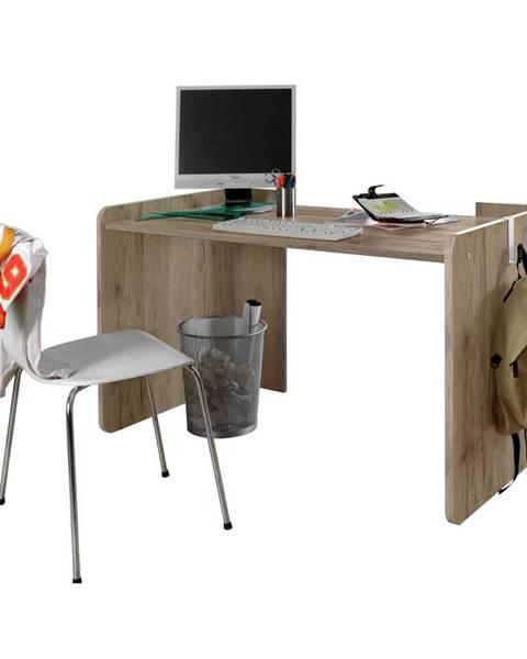 Möbelix Písací Stôl Young Dekor Dub San Remo/biela