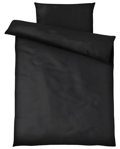 Posteľná Bielizeň Blacky, 140/200cm, Čierna