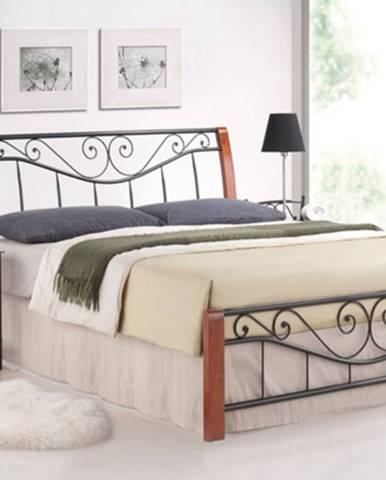 Signal Manželská posteľ PARMA / 140 čerešňa