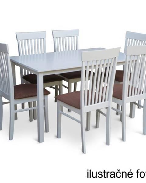Kondela Tempo Kondela Jedálenský stôl ASTRO 135 / biela