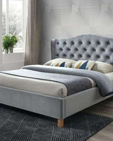 Signal Manželská posteľ Aspen Velvet 160x200 cm