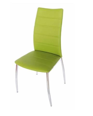 Tempo Kondela Jedálenská stolička DELA / zelená