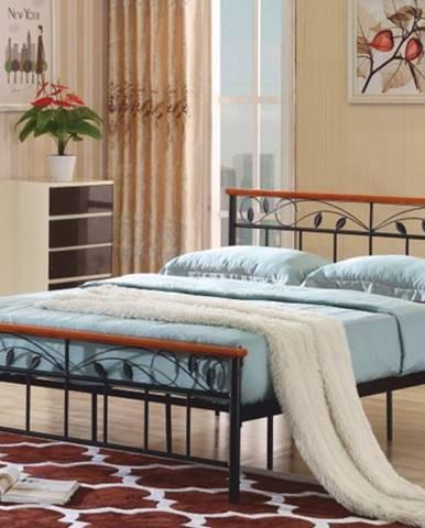 Tempo Kondela Kovová manželská posteľ MORENA / 160x200