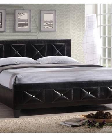 Tempo Kondela Manželská posteľ CARISA 160x200