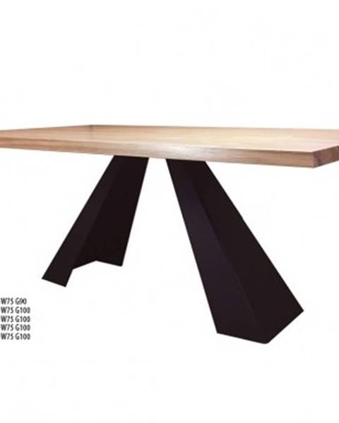 Drewmax Drewmax Jedálenský stôl Metal ST370 / dub
