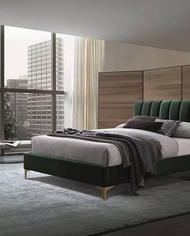 Signal Čalúnená manželská posteľ Mirage