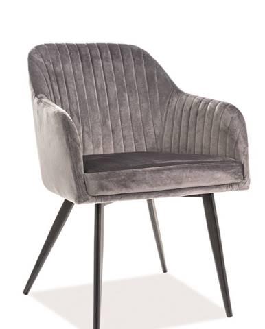 Signal Jedálenská stolička ELINA velvet