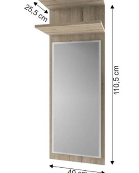 Kondela Tempo Kondela Panel so zrkadlom Orestes 40