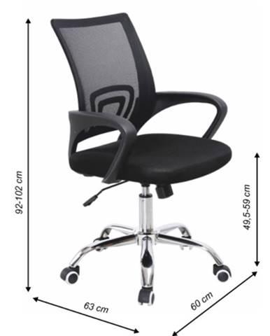 Tempo Kondela Kancelárska stolička Dex