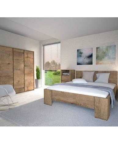 Tempo Kondela Manželská posteľ MONTANA L1 / 160x200