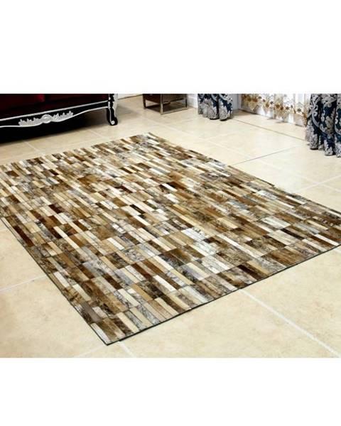 Tempo Kondela Tempo Kondela Luxusný kožený koberec