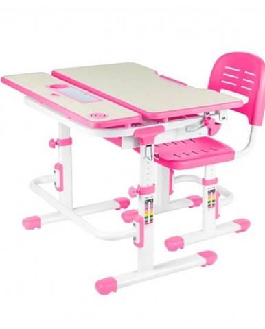 Fundesk Rastúci stôl LAVORO + stolička
