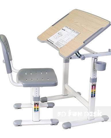 Fundesk Rastúci stôl PICCOLINO II + stolička