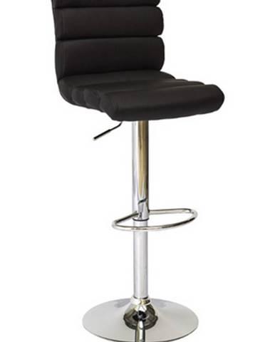 Signal Barová stolička C-617 čierna