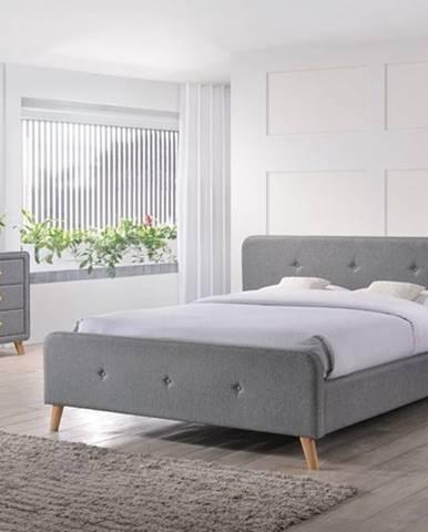 Signal Čalúnená manželská posteľ MALMO