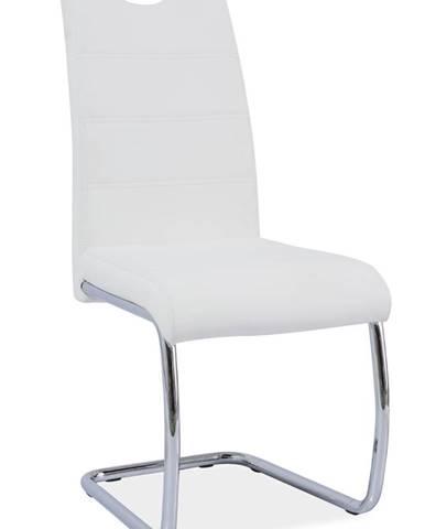 Signal Jedálenská stolička H-666 / biela