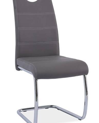Signal Jedálenská stolička H-666 / sivá
