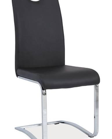 Signal Jedálenská stolička H-790 čierna