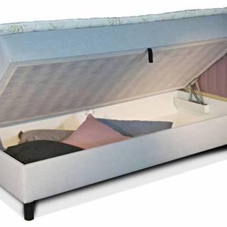 New Design  Čalúnená posteľ NOVO s čelami