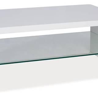 Signal Konferenčný stolík RICA / biely lak