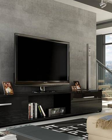ArtAdr TV stolík ARIDEA / čierna