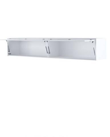 Dig-net nábytok Nadstavec pre sklápaciu posteľ BED CONCEPT BC-15p |Biely lesk