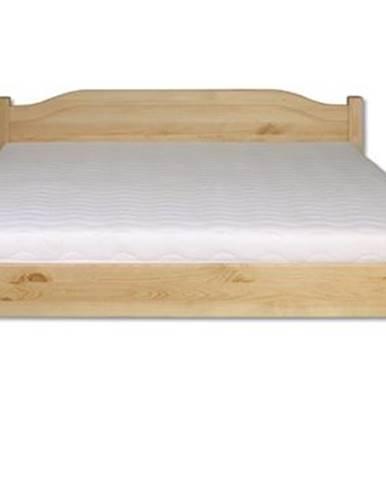 Manželská posteľ - masív LK106   120cm borovica