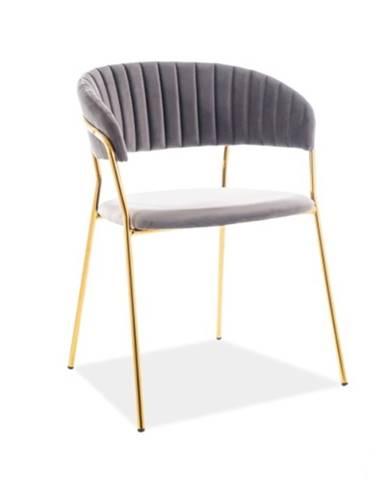 Signal Jedálenská stolička Lira Velvet