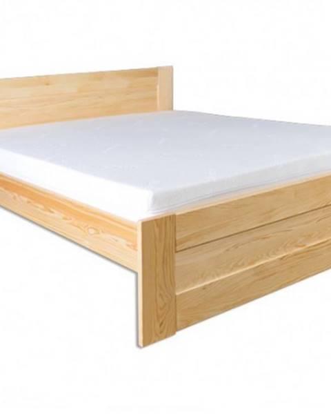 Drewmax Drewmax Manželská posteľ - masív LK102 | 160cm borovica