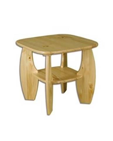 Drewmax Konferenčný stolík - masív ST115   borovica