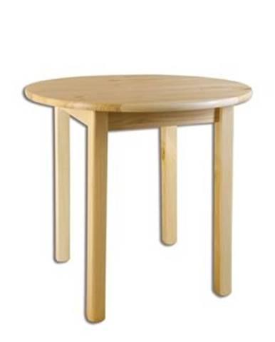 Drewmax Stôl - masív ST105   90cm borovica