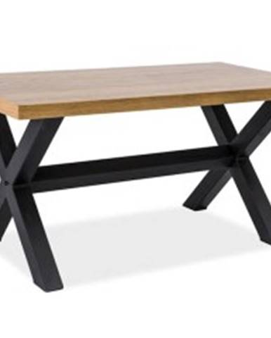 Signal Konferenčný stolík XAVIERO B / Dubová dýha