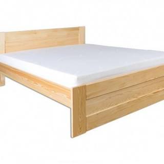 Drewmax Manželská posteľ - masív LK102 | 160cm borovica